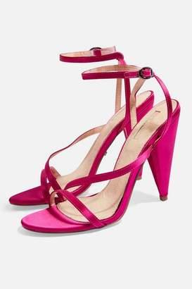 Topshop Womens Riz Strappy Sandals