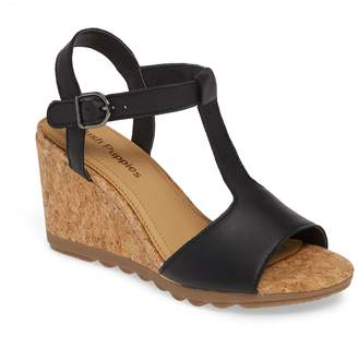 Hush Puppies R) Pekingese Wedge Sandal