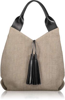 Joanna Maxham Afficianado Tassel Tote Bag - Intreccio Fabric