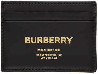 Burberry Black Horseferry Sandon Card Holder
