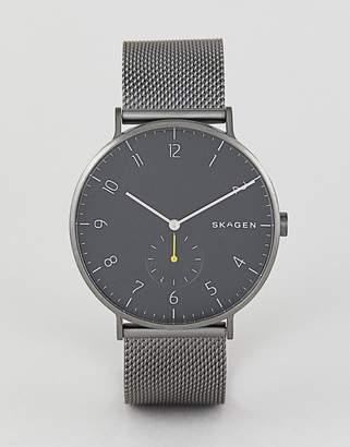 Skagen SKW6470 Aaren Mesh Watch 40mm