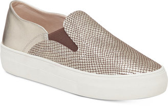 Vince Camuto Kyah Slip-On Flatform Sneakers $99 thestylecure.com
