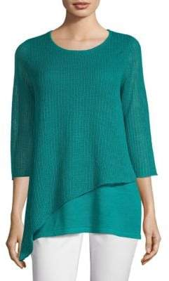 Eileen Fisher Organic Linen Knit Tunic
