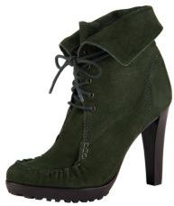 Jameson Booties in Black, Chocolate or Khaki Green
