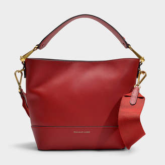 872261f48 Polo Ralph Lauren Sullivan Bucket Hobo Small Bag In Navy Calfskin