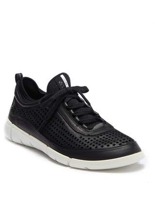 Ecco Intrinsic Perforated Leather Sneaker