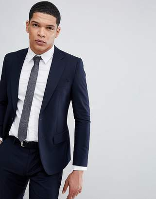 Antony Morato Slim Fit Suit Jacket In Navy
