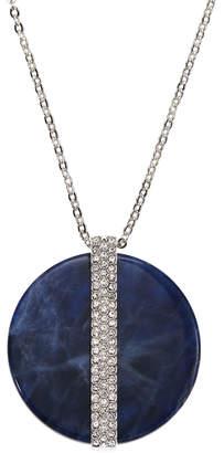 Swarovski Disk Large Pendant Necklace