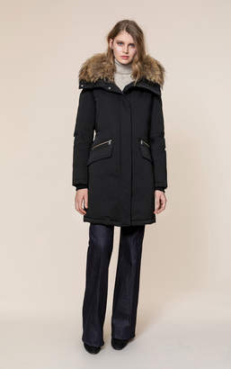 Soia & Kyo JOLEEN-R mid-length classic down coat
