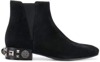 Dolce & Gabbana Napoli Beatle ankle boots