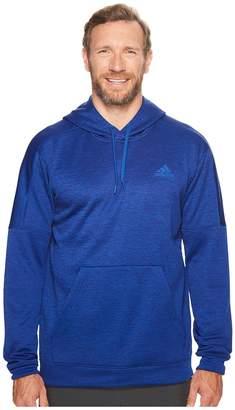 adidas Big Tall Team Issue Fleece Pullover Men's Clothing