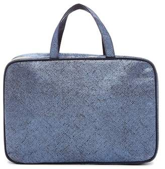 Kestrel Artisan Shade Solid Weekend Bag - Blue