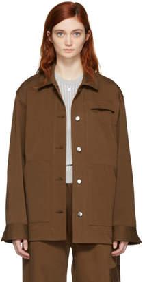 Nomia Brown Oversize Chore Jacket
