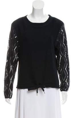 See by Chloe Navy Crew Neck Sweater
