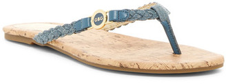 G by GUESS Brayden Flip Flop $29 thestylecure.com