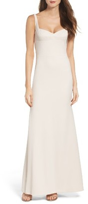 Women's Vera Wang Sweetheart Gown $278 thestylecure.com