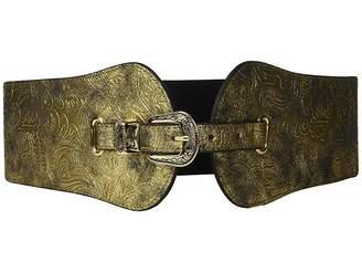 Steve Madden Metallic Stretch Belt