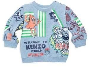 Kenzo Baby's Food Multi-Icon Sweatshirt