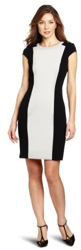 Calvin Klein Women's Career Lux Polyester Dress