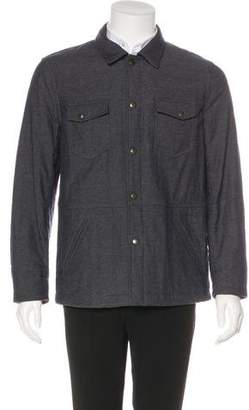 Billy Reid Padded Shirt Jacket