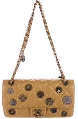 Chanel 2015 Paris-Dubai Medallion Flap Bag