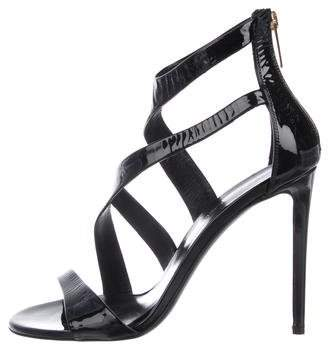 Tamara Mellon Patent Leather High-Heel Sandals