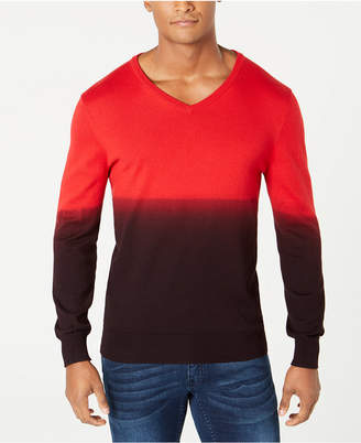 INC International Concepts I.n.c. Men's New Playlist Dip Dye Sweater