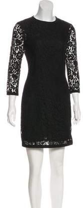 Joseph Lace Mini Dress