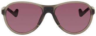 District Vision Grey and Pink Kaishiro Explorer Sunglasses