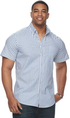 Sonoma Goods For Life Big & Tall SONOMA Goods for Life Patterned Stretch Button-Down Shirt