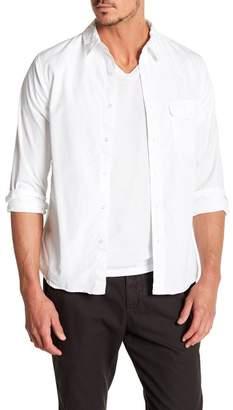 Save Khaki Poplin Work Classic Fit Shirt