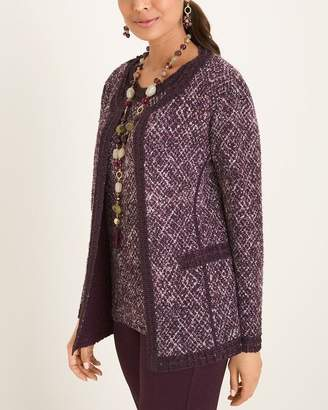 Of the Moment Travelers Collection Texture Tweed Jacket