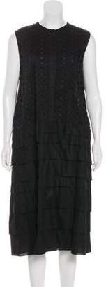 Tia Cibani Midi Eyelet Dress w/ Tags