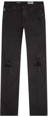 AG Jeans Stockton Distressed Skinny Jeans