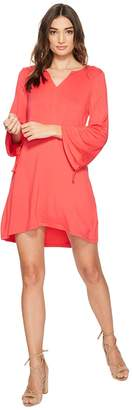 Kensie Drapey French Terry Dress KS2K8171 Women's Dress
