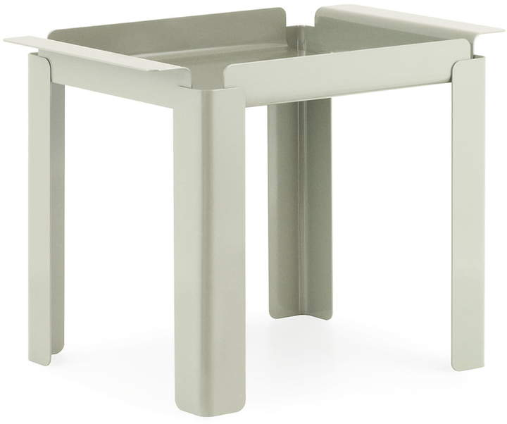 Normann Copenhagen - Box Table 33 x 48 cm, cement grey