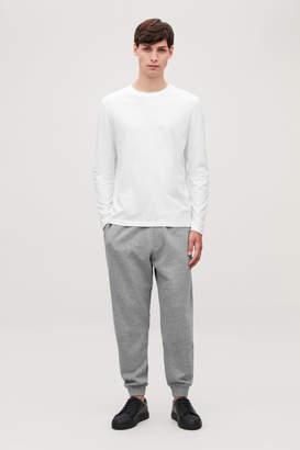 8277c51459 Long Sleeve Wide Neck T-shirt Men - ShopStyle
