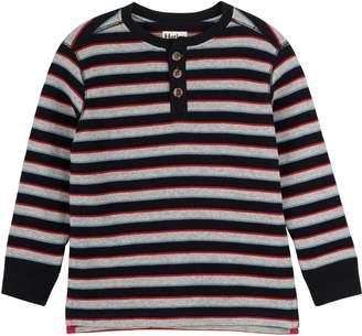 Hatley Waffle Knit Henley Top