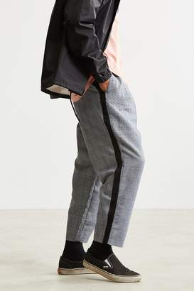Urban Outfitters Side Stripe Checkered Menswear Pant