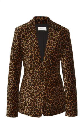 A.L.C. Mercer Leopard-Print Blazer