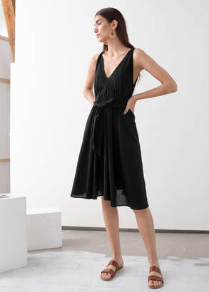 And other stories V-neck Dress