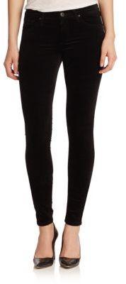 AG Velvet Legging Jeans $198 thestylecure.com