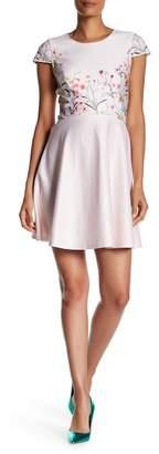 Cynthia Steffe CeCe by Hannah Floral Print Dress