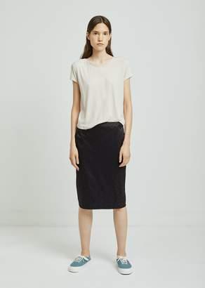 6397 Floral Jacquard Pencil Skirt
