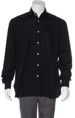 Borrelli Spread Collar Dress Shirt