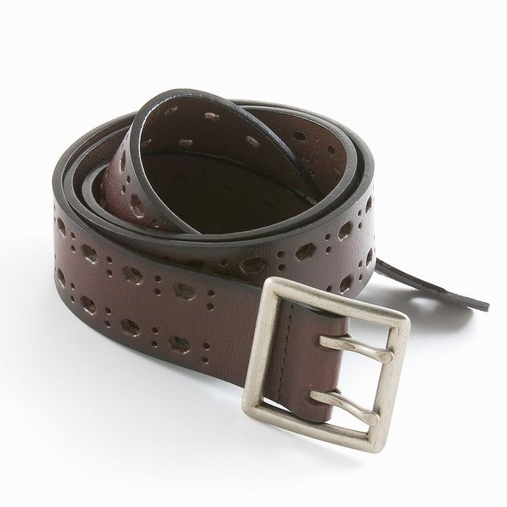 Relic® double-cutout leather belt