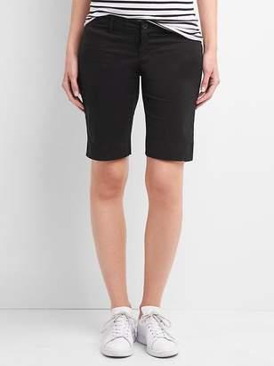 Gap Maternity inset panels twill bermuda shorts