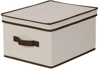 Household Essentials Large Lidded Storage Box