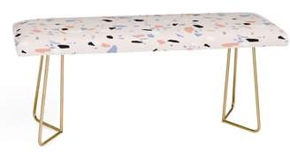 Deny Designs Emanuela Carratoni Terrazzo Bench