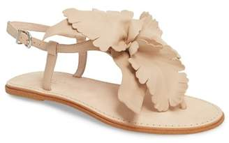 Cecelia New York Peony Floral T-Strap Sandal